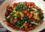 Cherry Tomatoes and Barrumundi