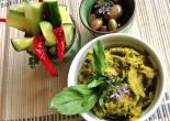 Roast Vegetable Dip with antipasto