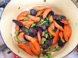 Mixed Heritage Carrot Sauté