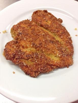 Gluten free Chicken Parma