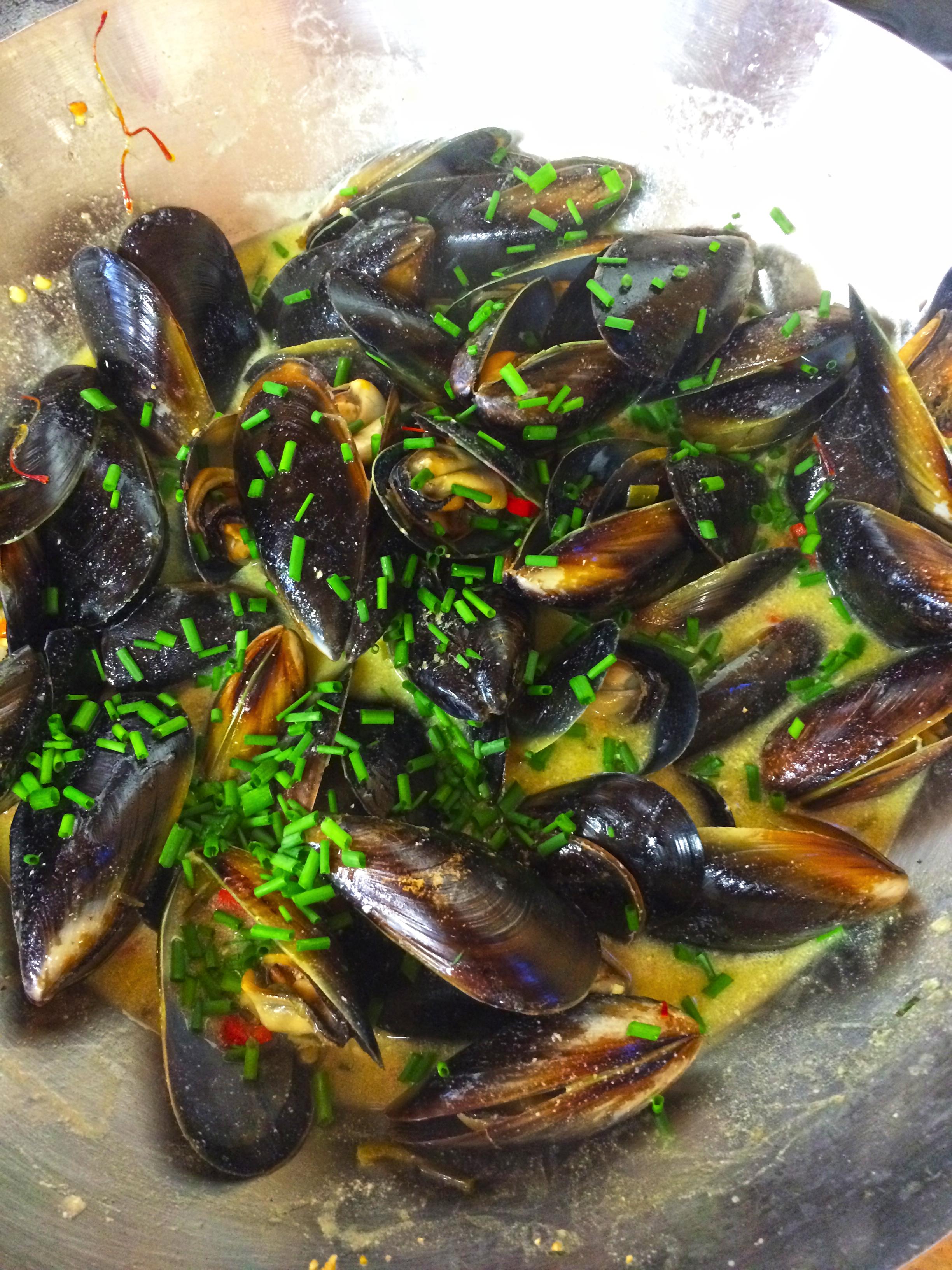 Mussels Bouillon with Saffron: a low fodmap, diabetic ...