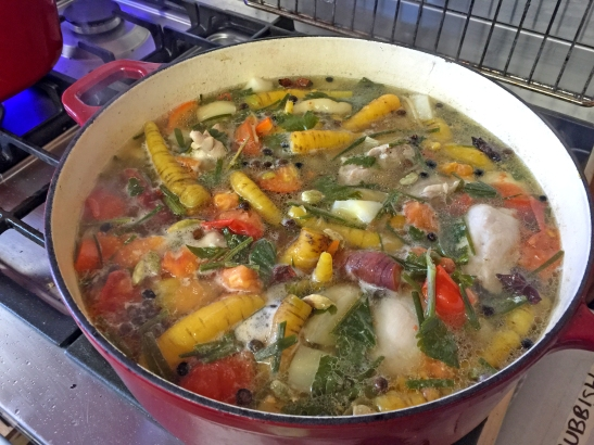 Autumn Vegetable and Chicken Soup