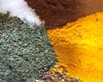 Dried herbs and ground spice