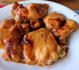 Soy ginger chicken