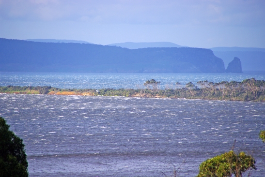 Wintery Seas of Bruny Island